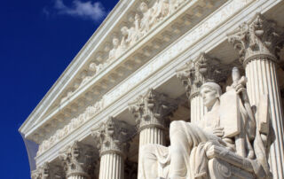 A view of the US Supreme Court