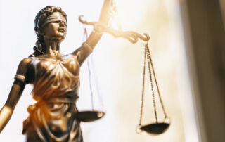 Image of Justitia the Roman Goddess of Justice